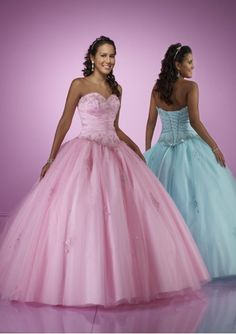 Latest Fashion Tulle Sweetheart Empire Bodice Hot Sell Quinceanera Dress Sale On Sale