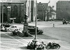 vintage everyday: Old Photos of Daily Life in Denmark during The World War II Odense
