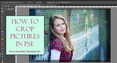 How to crop pictures in Photoshop Elements via @amandapadgett