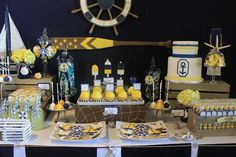 We Heart Parties:  Sailor Themed Baby Shower