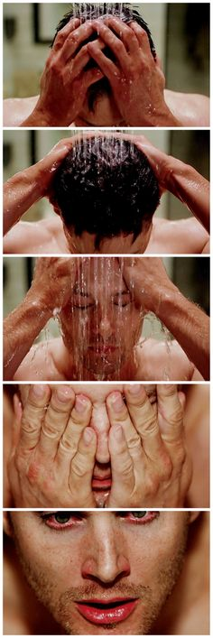 with the right gifset url [gifset] shower porn ♥ Meta Fiction John Winchester, Winchester Brothers, Jensen Ackles, Supernatural Season 9, Supernatural Fandom, Jared Padalecki, Destiel, Superwholock, A Team