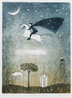Taideliike KUVAn valikoimassa olevat teokset taiteilijalta Emmi Vuorinen. @impetuousarah