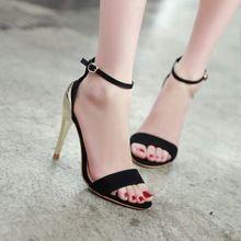2015 neue sommer sexy frau sandalen offene spitze dünne high heels hohe qualität damen schuhe partei und hochzeit tanzen pumpt dame schuhe //Price: $US $24.77 & FREE Shipping // #cocktailkleider