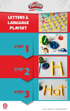 Turn your kitchen into a classroom with the Play-Doh Shape and Learn playset. Inspire your young curious thinker as you help them discover their ABC's and more! Find the playset at Target.