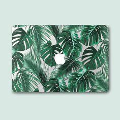 Palm Macbook Pro 13 Hard Case Green Leaf Macbook Air Case