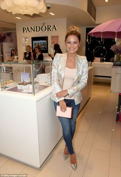 Glowing: Former TOWIE star Sam Faiers was nailed understated chic as she attended the even...