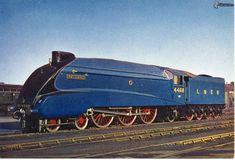 Mallard Train, Flying Scotsman, Tramway, Train Truck, Steam Railway, Bonde, Train Art, Old Trains, British Rail
