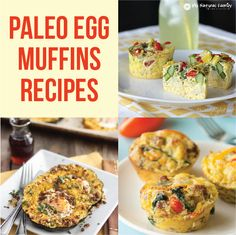 Paleo Egg Muffins Recipes | My Natural Family |