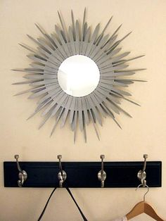 first see some creative ideas of mirror                                                                         This method is described ...