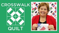 Crosswalk Pattern by Missouri Star - Missouri Star Quilt Co. - Missouri Star Quilt Co. - Finished size: x for strips and squares. From Missouri Star Quilt Company Quilting For Beginners, Quilting Tips, Quilting Tutorials, Quilting Projects, Msqc Tutorials, Crazy Quilting, Jenny Doan Tutorials, Star Quilts, Quilt Blocks