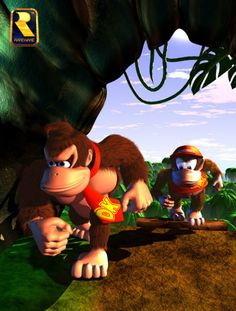 Me and my homie on our way to suck your dick Donkey Kong 64, Donkey Kong Country, Super Nintendo, Nintendo Games, K Rool, Super Mario World, Keys Art, Mario Party, Video Game Art