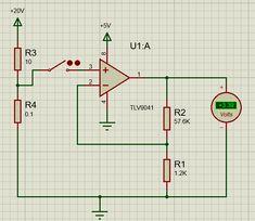 TLV9041 Op Amp Application Circuit Diagram Circuit Diagram, Circuits, Line Chart, Amp