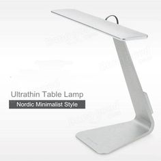 Ultrathin LED Dimming Touch Reading Table Lamp USB Eye Protection Night Light Sale - Banggood.com