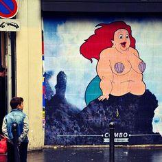 The little mermaid wall art