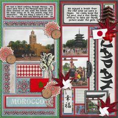 Morocco and japan