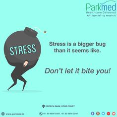 Once in a while take a break, Pause a bit and rejoice the nature around. Don't dive into the ocean of Stress. #StreeAwarenessMonth #ParkmedHealthcare #HolisticHealthcareBangalore #Ecospace