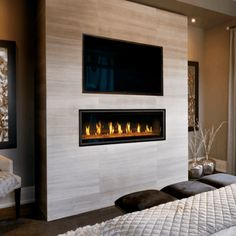 Hottest Free of Charge gas Fireplace Remodel Concepts Napoleon Vector 50 Linear Direct-Vent Gas Fireplace Direct Vent Gas Fireplace, Vented Gas Fireplace, Mounted Fireplace, Tv Above Fireplace, Linear Fireplace, Basement Fireplace, Home Fireplace, Fireplace Remodel, Fireplace Surrounds