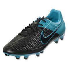 quality design 853ef c052b Nike Magista Onda FG (Black Turquoise Blue) Soccer Boots, Soccer Gear,
