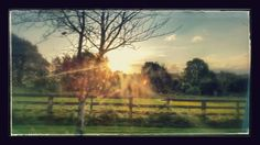 October Sunrise in County Lonford