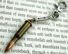 Brass Gold Bullet Casing Shotgun Shell by RockStarFeathers on Etsy, $9.99