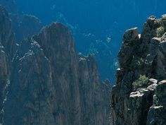 Black Canyon of Gunnison National Park in Colorado. (Photo by Walt Huss)