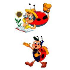 Божьи коровки — Yandex.Disk Tigger, Tweety, Disney Characters, Fictional Characters, Album, Fantasy Characters, Card Book
