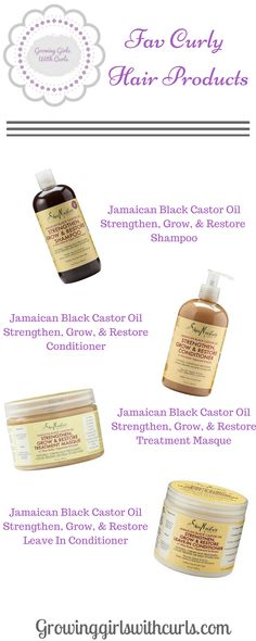 Favorite curly hair products for color treated hair. Shea Moisture Strengthen, grow, and restore line.