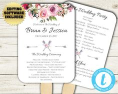 Which Wedding Program Format Is Right For You  Wedding Programs