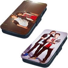 Bars and Melody Printed Faux Leather Flip Phone Cover Case