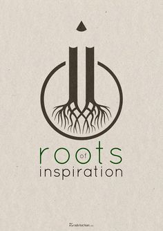 Roots of inspiration by Radu Luchian, via Behance