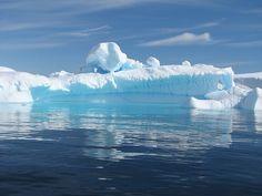 Iceberg, Calm, Blue, Ice, Cold