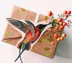 как красиво оформить подарок в коробке