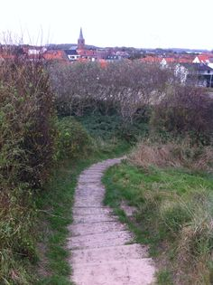Stairway from the boulevard to Domburg - Zeeland
