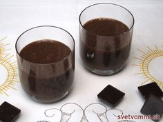 Čokoládový likér, recept
