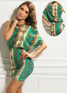 Draped Dress Pattern