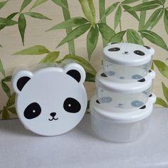 4 boîtes Panda A little lovely company - deco-graphic.com