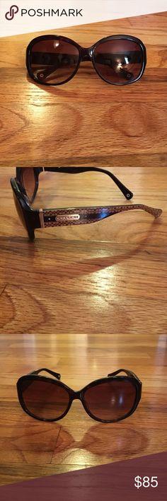 Coach Joelle Sunglasses in Tortoise Shell Coach Joelle Sunglasses in Tortoise Shell with case Coach Accessories Sunglasses