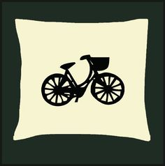Vintage Art - Bicycle - Scatter Cushions - Cover - Pillow Case - Home Decor for Cushion Covers, Pillow Covers, Scatter Cushions, Vintage Bicycles, Vintage Art, Pillows, Handmade Gifts, Etsy, Home Decor