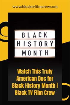 Looking for something to watch during Black History Month? We got you. #blackhistorymonth #documentary Melanin Quotes, Books By Black Authors, Black Quotes, Black Tv, Black Characters, African Americans, Black History Month, Black People, Documentary