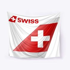 Wall Tapestry of Swiss International Air Lines