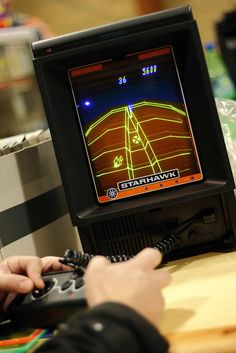 I miss my Vectrex...