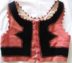 Szekely vest Textiles, Fashion Sewing, World Of Fashion, Ethnic, Folk, Vest, Culture, Costumes, Times