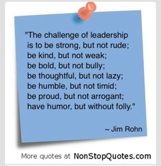 #leadership #quotes  Jim Rohn