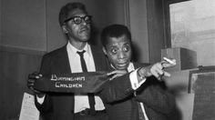 Legendary Black gay icons : author, James Baldwin and Civil Rights & Gay Rights activist, Baynard Rustin Civil Rights Leaders, Civil Rights Activists, Civil Rights Movement, Forgotten Man, Native Son, James Baldwin, African American History, American Art, Thoughts