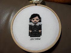 Jon Snow Pixel Power Designs