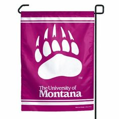 "NCAA Montana Grizzlies Garden Flag by WinCraft. $7.20. Officially licensed garden flag. Durable polyester flag measures 11"" x 15"". Machine washable. Designed to hang vertically from a garden flag pole or inside as wall decor. Made in USA.. Save 45%!"