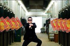 Le clip du chanteur coréen Psy - qui a atteint récemment le milliard de vues sur Youtube avec sa chanson Gnangnam Style et sa chorégraphie du cavalier - a lui aussi été détourné par un internaute sur Twitter.