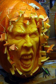 Unique Pumpkin Carving!