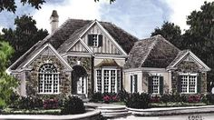 Sanderson Place - Frank Betz Associates, Inc.   Southern Living House Plans