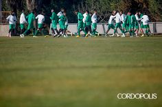 Entrenamiento del Córdoba en la Ciudad Deportiva del Camino Carbonell | ÁLVARO CARMONA